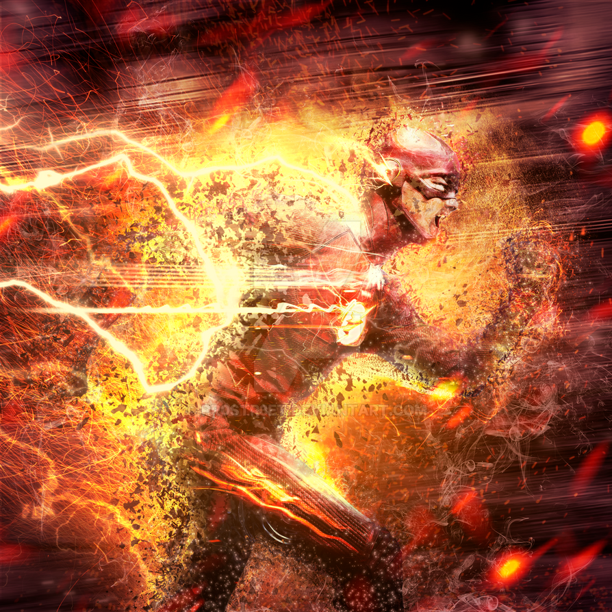 The Flash CW : Crisis on infinite Earths by pr0str3et