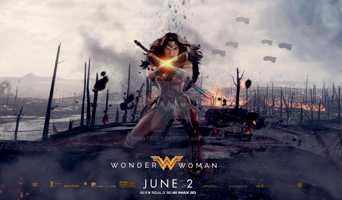 Wonder Woman by pr0str3et
