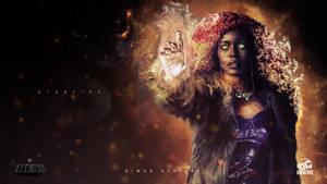 Starfire Wallpaper  |  TITANS DC UNIVERSE