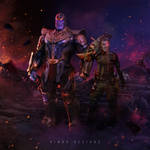 Thanos and Cable