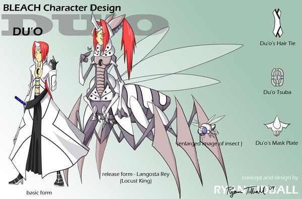 Bleach OC Design: Du'o By PixelMagus On DeviantArt