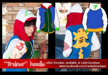 Trainer Hoodie by PixelMagus