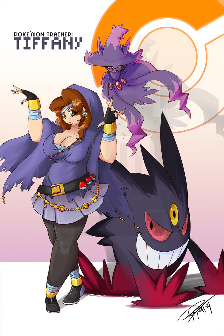 Ghost Trainer: Tiffany - Commission by PixelMagus