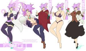 Pixel Magus Character Design(2/6) - Beatrice(Bea)