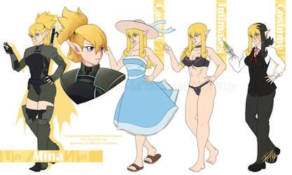 Pixel Magus Character Design(3/6) - Mina