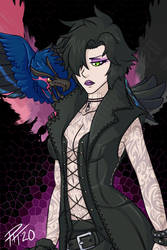 Devil May Cry 5 - V(Genderflip Design)