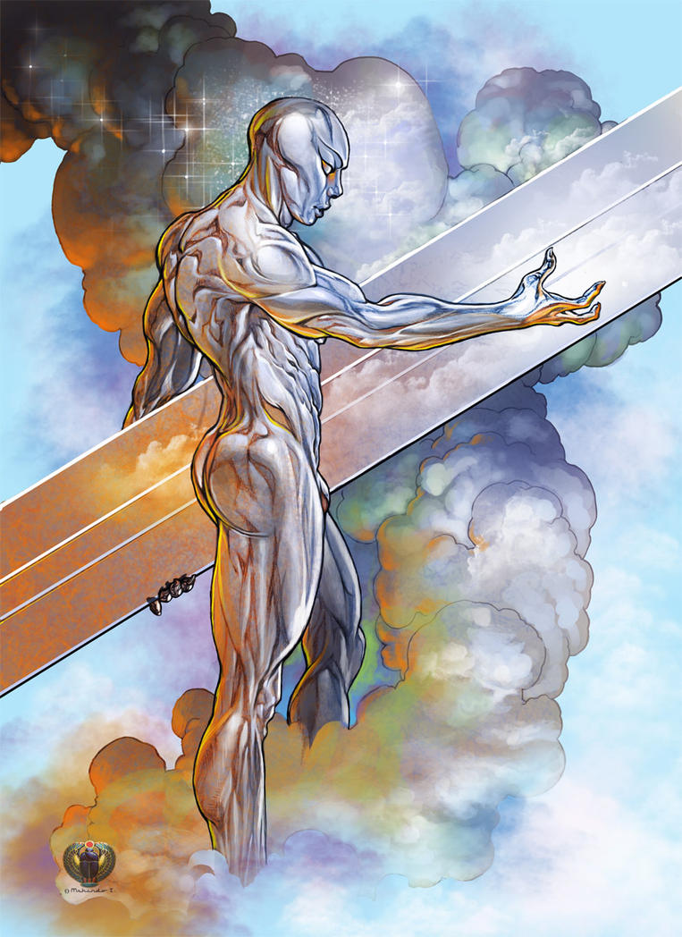 Silver Surfer color by Mshindo9