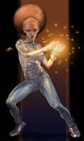 Superhero Huff 2 color by Mshindo9