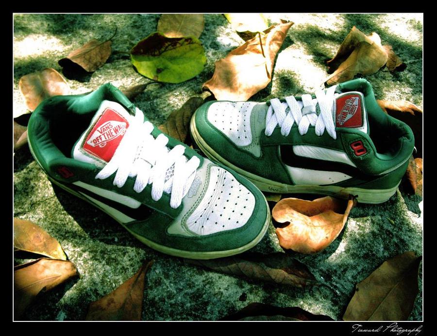 Vans Shoes Tnt Black Red