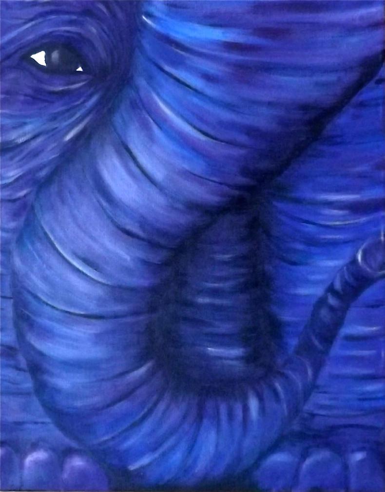 Elephant Wrinkles by Nerak-66
