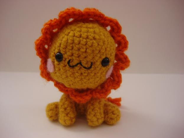 Amigurumi Lion Perriton : Amigurumi lion by melissah on deviantart