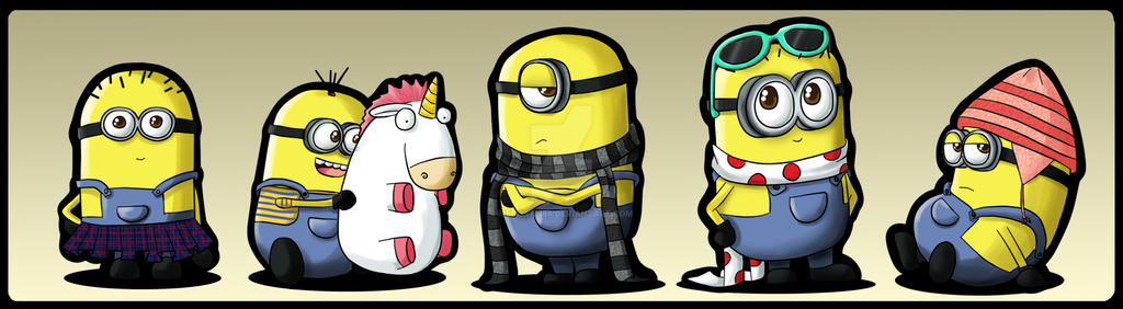 Minions by melissah84