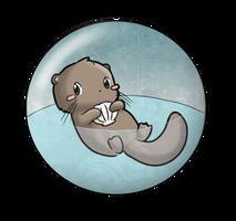 Otter Magnet