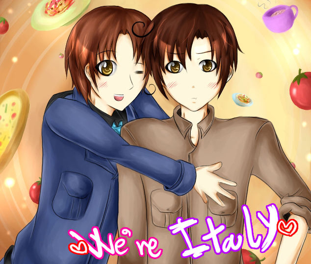 APH : Italy Brothers by RuminE