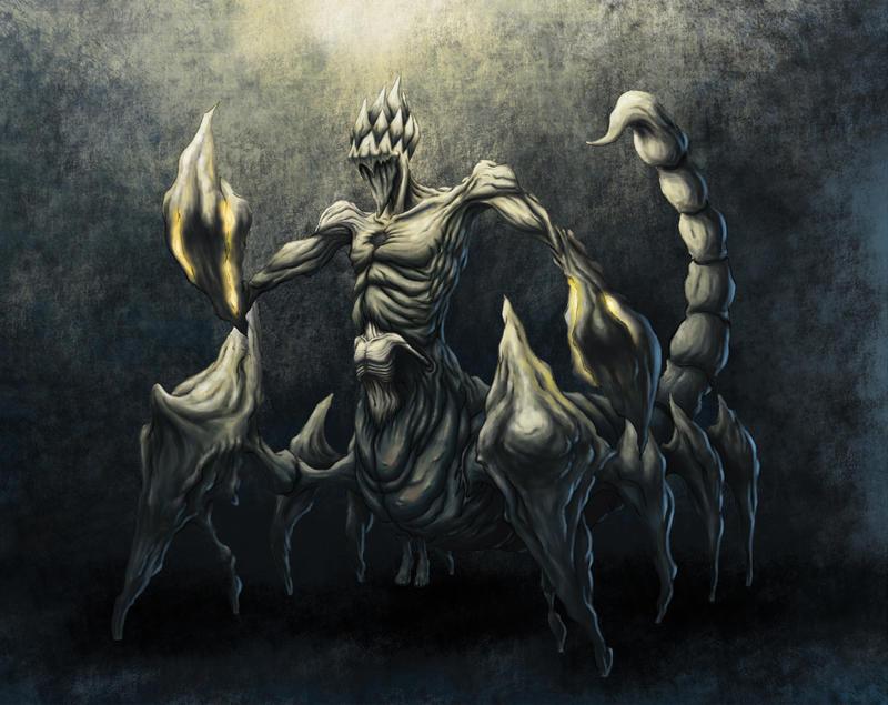 Fantasy demon lord
