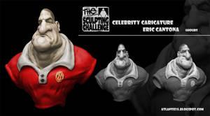 Cantona Caricature