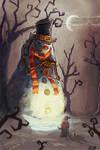 Mad Snowman