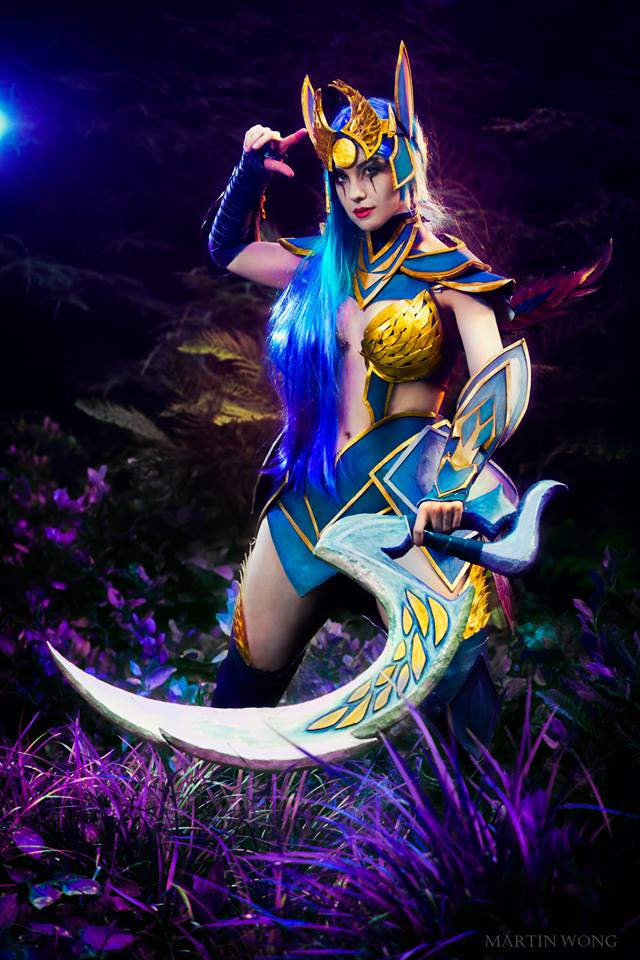 Diana Cosplay - League of Legends by Feoranna on DeviantArt