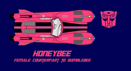 Warpspeeder Honeybee Style By Dalekofborg-pink Log by Pmbster