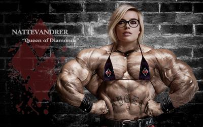 Queen of Diamonds By Nattevandrer Glasses by Nattevandrer