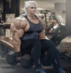 Iron Cara Giantess by Nattevandrer