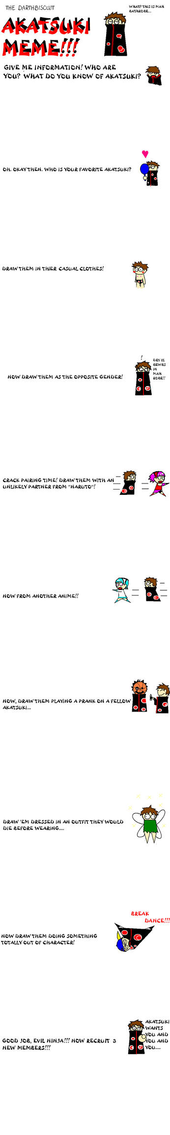 Akatsuki Meme by Darthbiscuit by darthbiscuit80