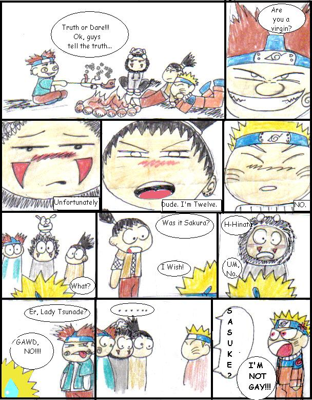 Naruto: Truth or Dare, Part 1 by darthbiscuit80 on DeviantArt