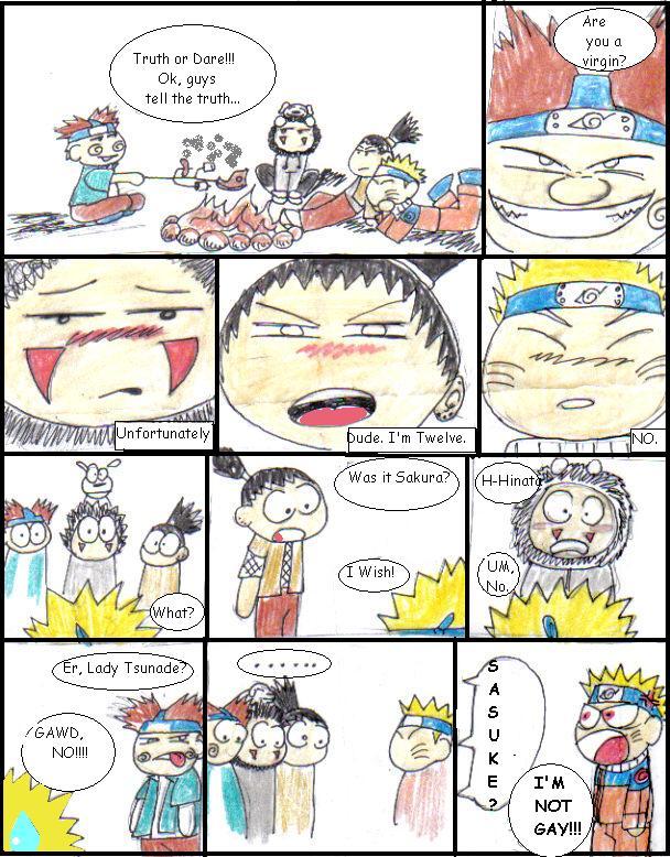 Truth Or Dare A Naruto Fanfic