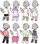 misc outfit adopts [OPEN 4/8]