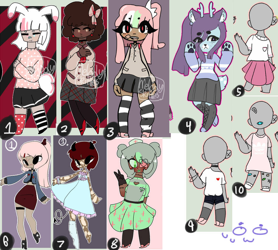 unsold adopts SALE [CLOSED] by ikisosou