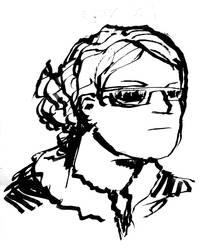 Doodle Portrait: Jolene, cool
