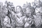 Aragorn meets the Rohhirims