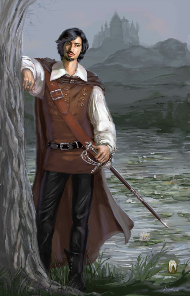 Athos _The Three Musketeers_ by Venlian