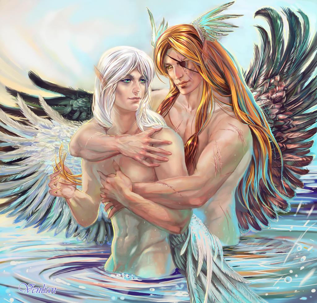 Angels love by Venlian