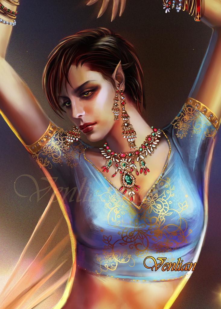Lana portrait by Venlian