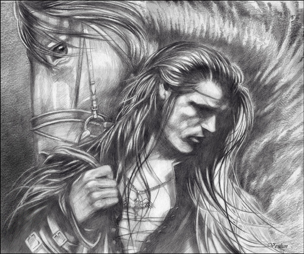 Fingon Before the Battle by Venlian