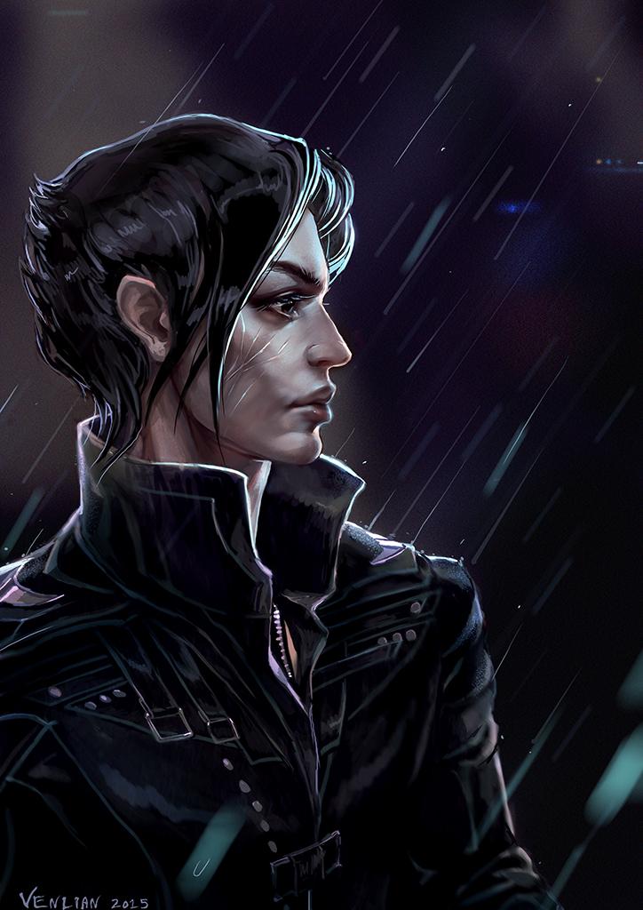 Only rain by Venlian