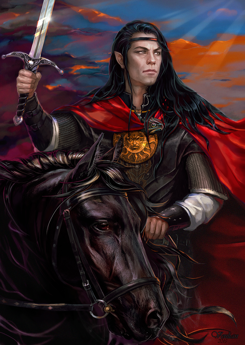 Feanor Noldor King by Venlian