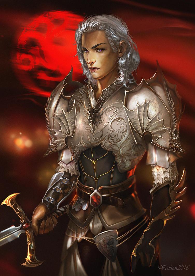 Aemon Targaryen by Venlian