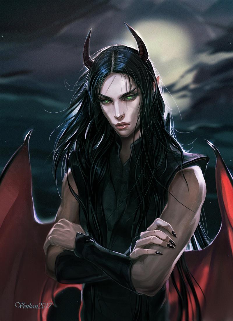 Night Demon by Venlian