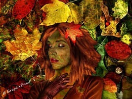 Autumn Lady by GraphixFreak