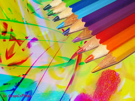 Colored Pencil by GraphixFreak