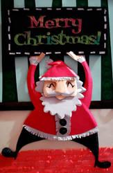Paper Santa by Arisadono