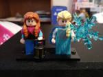 Lego Anna and Elsa