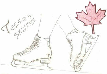 Tessa Virtue Skates