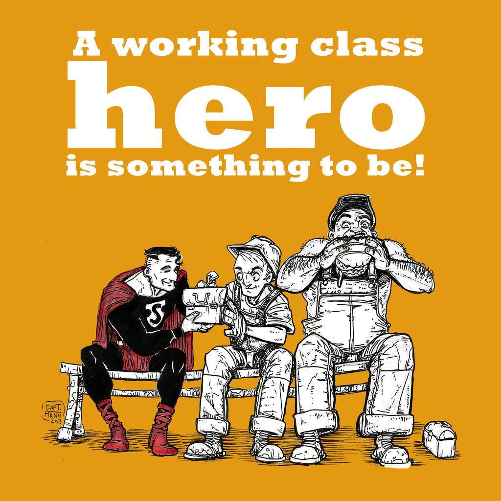 Superman 1938 Working Class Hero by CaptManu