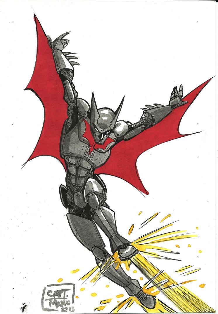 Batman Beyond by CaptManu