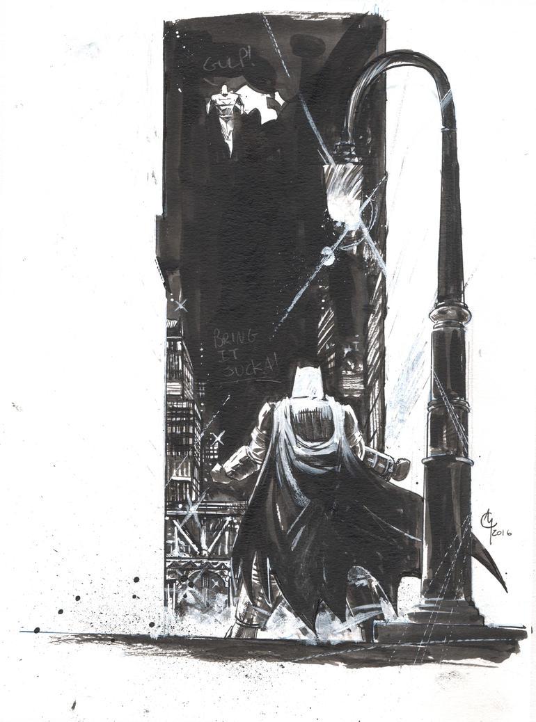 Batman-Superman by cmccormack414