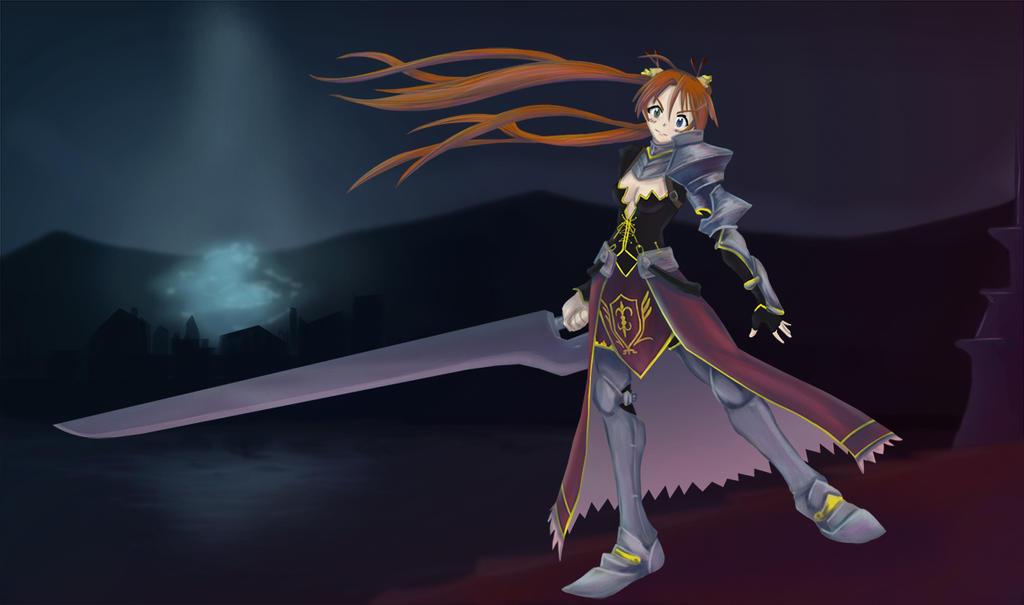 Asuna Splash Art   -Animated- by Wlack