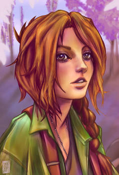 Stardew Valley : Leah by Wlack